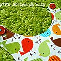 Des p'tits oiseaux colorés
