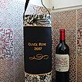 sac transport de bouteille de vin et champagne personnalisée Cuvée