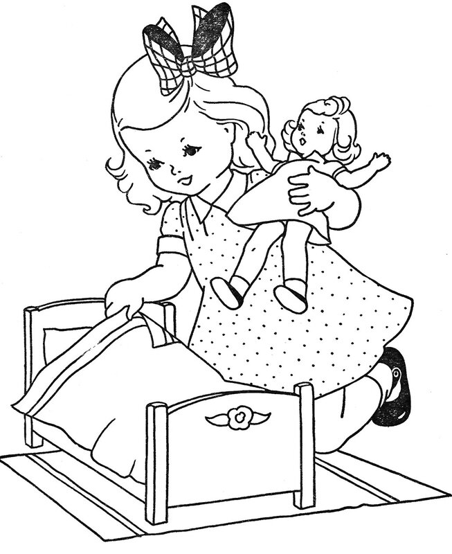 doll-bed