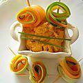 Tartinade noix de cajou-carotte