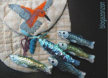 poisson en paillettes