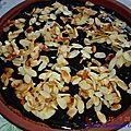 Gâteau crousti-moelleux poire-chocolat-amandes