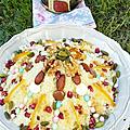 Mesfouf algérien ( couscous sucrés aux fruits secs)