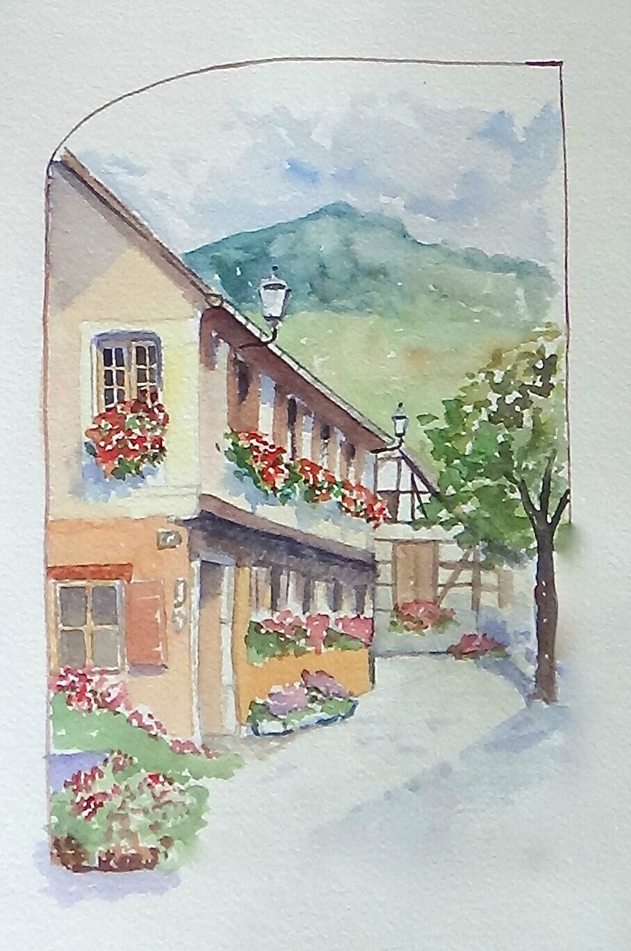 Alsace ,Ottrot