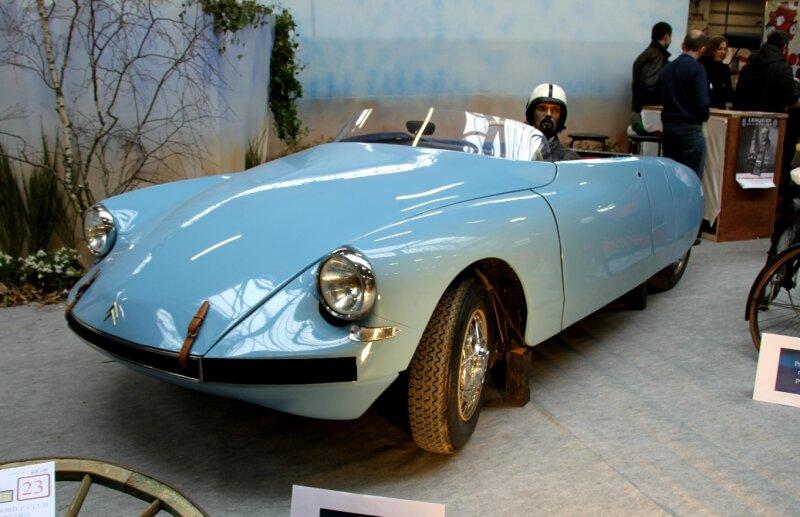 Citroen DS Ricou cabriolet de 1958 (23ème Salon Champenois du véhicule de collection) 01