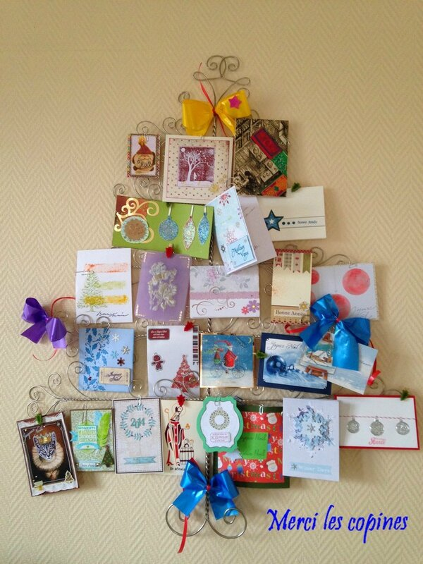 sapin cartes copines
