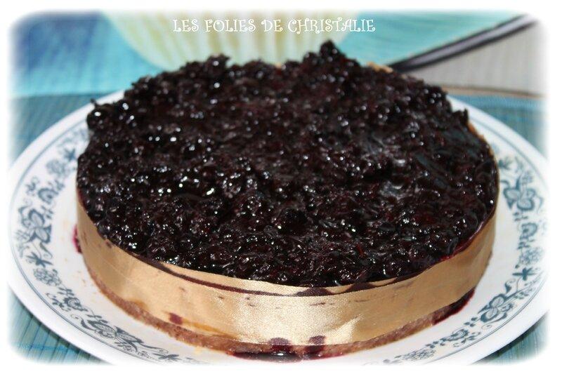 Cheesecake au cassis 2