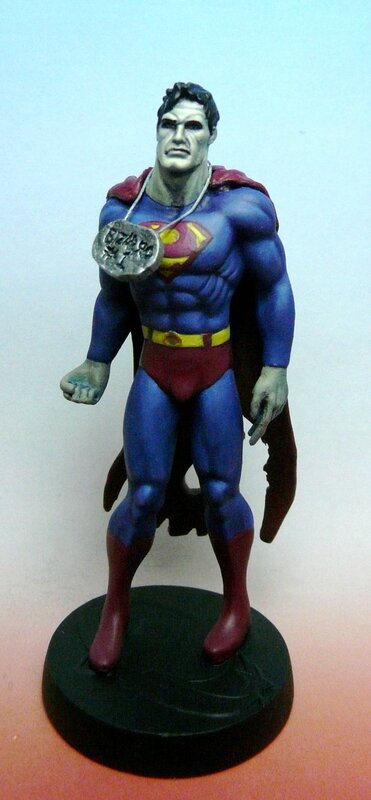 eaglemoss DC bizarro superman