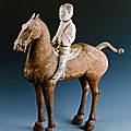 Cavalryman, western han dynasty, 206 bce - 24 ce