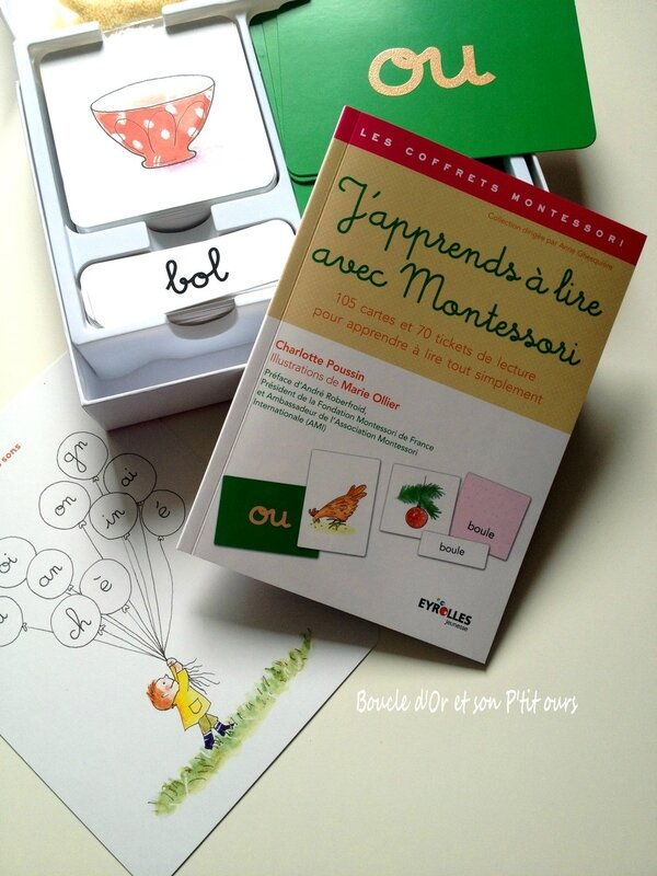 maman boucle d'or montessori coffret eyrolles