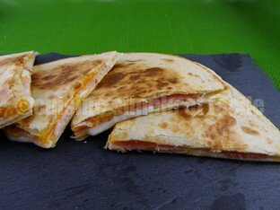quesadillas jambon fromage 04