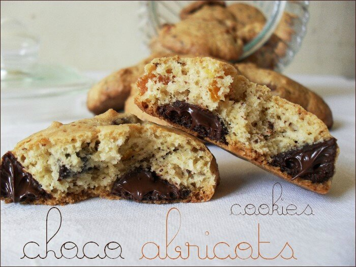 cookies choco-abricots 1