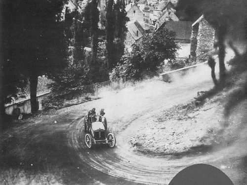 1905 gordon bennett trophy, circuit d'auvergne - léon théry (richard-brasier 4-cyl 11,3-litre 96hp) 1st 2