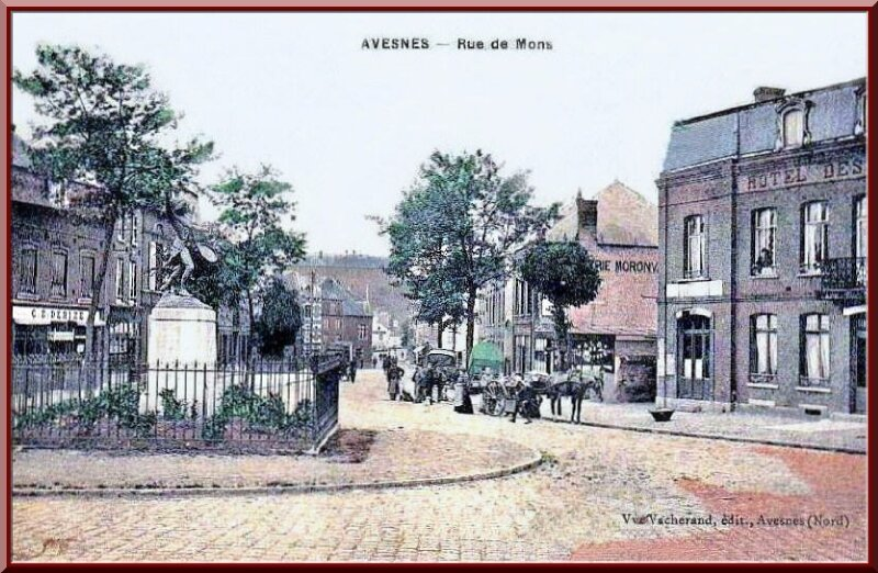 Avesnes - Rue de Mons