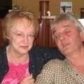 mars 05 michel et josette lors d'un repas chez jean claude