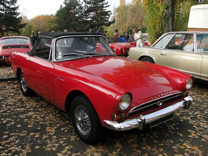 sunbeam alpine IV cabriolet 1964 1965 a