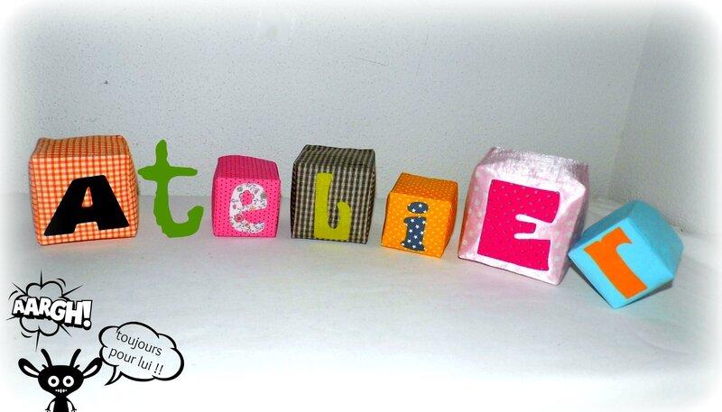 Atelier cube tissu Nov 2014