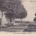 Les départs de la gare...