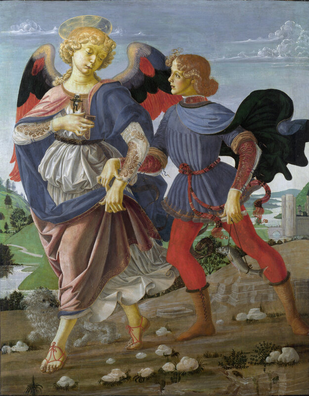 The Archangel Raffaele and Tobiolo