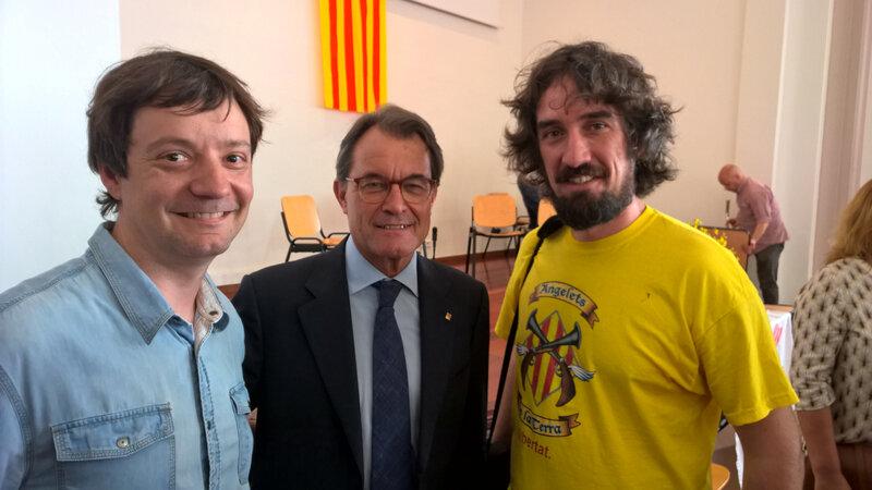 Joan Planes, Artur Mas, Ramon Faura 2018