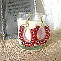 BO rouge, cristal swarovski