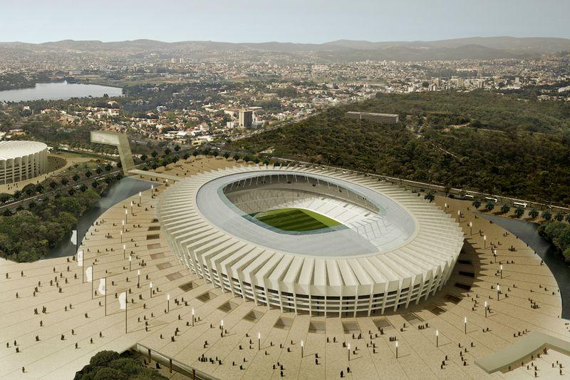 Belo Horizonte - Stade Mineirão Governador Magalhães Pinto