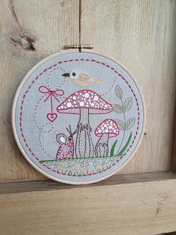 la souris aux champignons 1