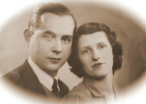 Guillaume Queffelec et Jeanne Paradis 1937