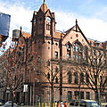 Harlem courthouse - new york - etats-unis