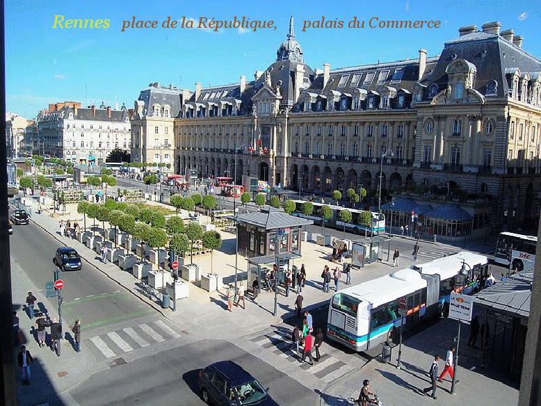 Place République Rennes