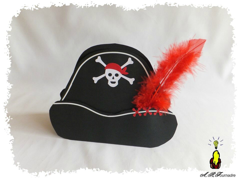ART 2016 10 chapeau de pirate et perroquet 1