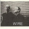 Wire - jeudi 8 octobre - joy eslava (madrid)