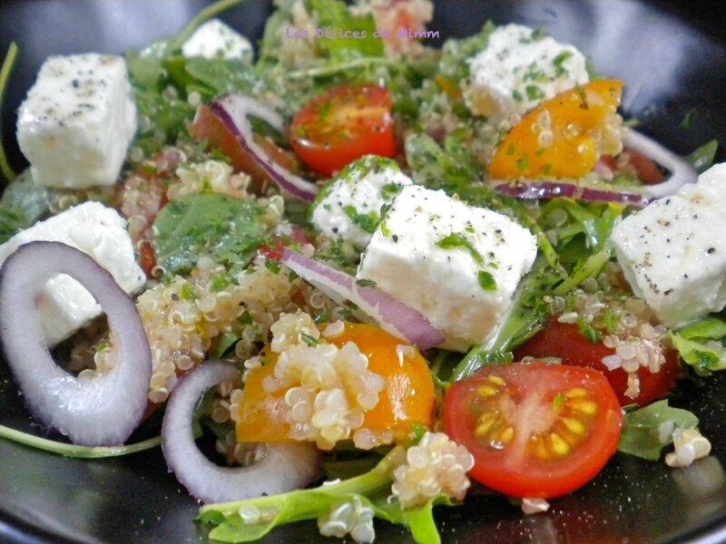 Salade de quinoa à la feta 3
