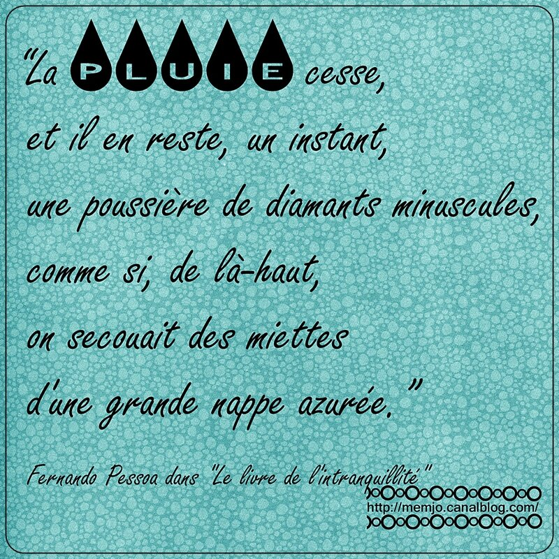 Citation Pessoa Pluie