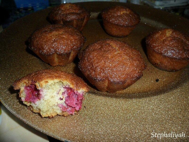 Muffins framboises choco blanc -- 2