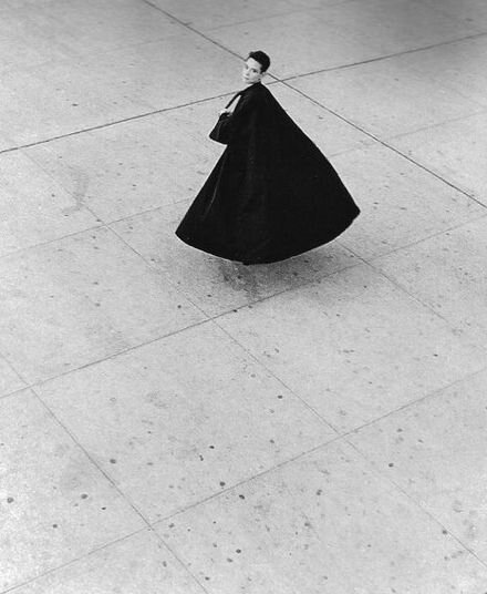 Tina Chow wearing Balenciaga, photographed by David Seidner