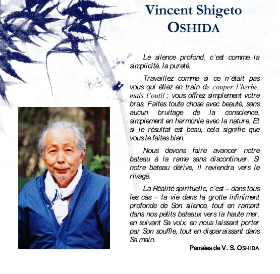 Paroles de Oshida