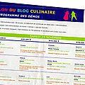 De retour du salon du blog culinaire de soissons
