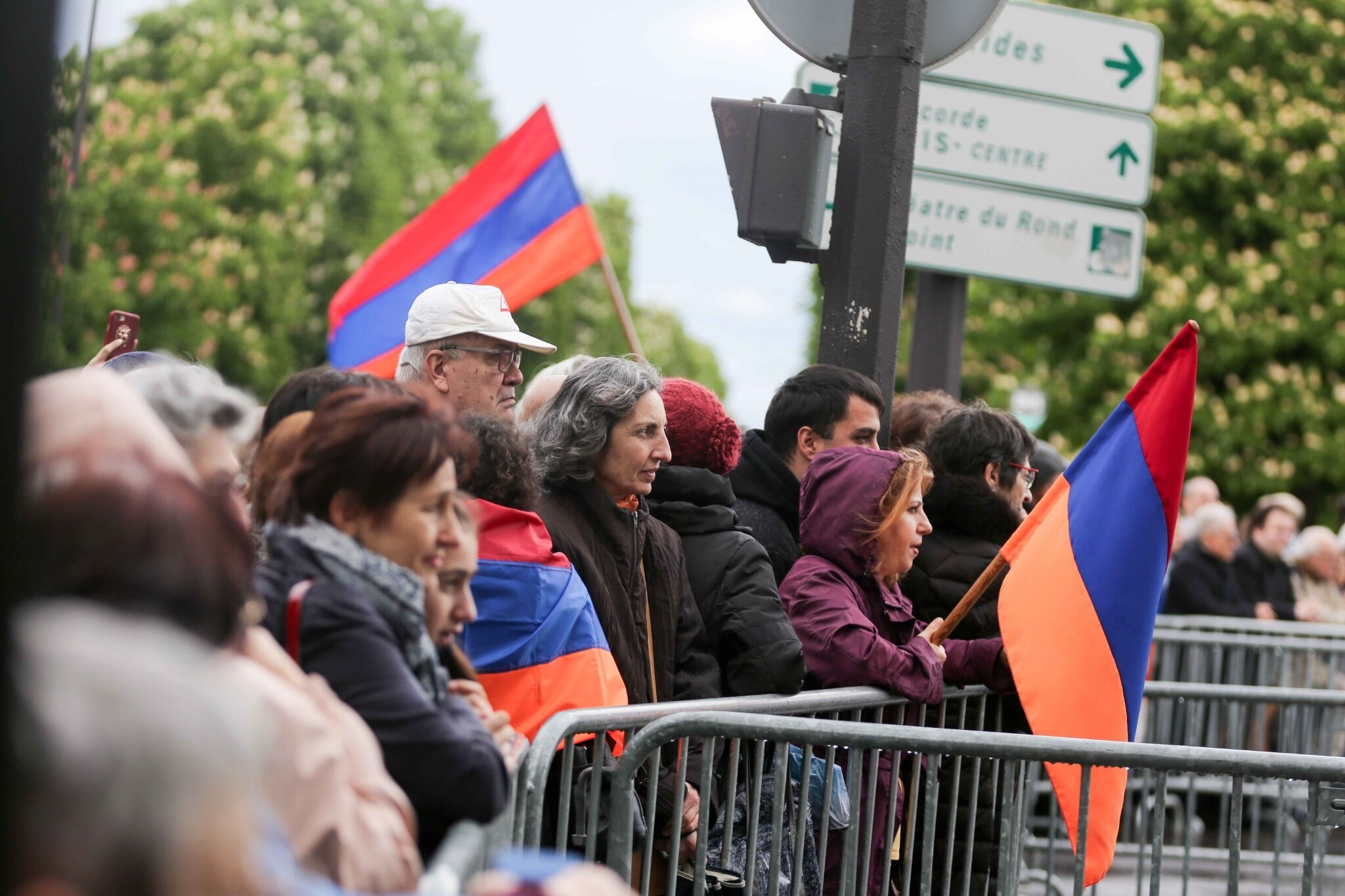 Édouard Philippe défend la commémoration du génocide arménien. © Michel Stoupak. Mer 24.04.2019, 16h55m20.