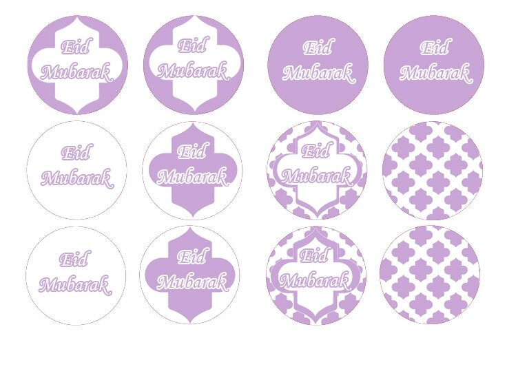 cupcake toppers mauve