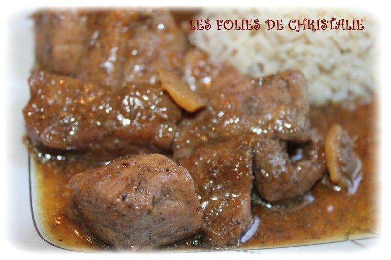 Sauté de porc sauce huitre 8