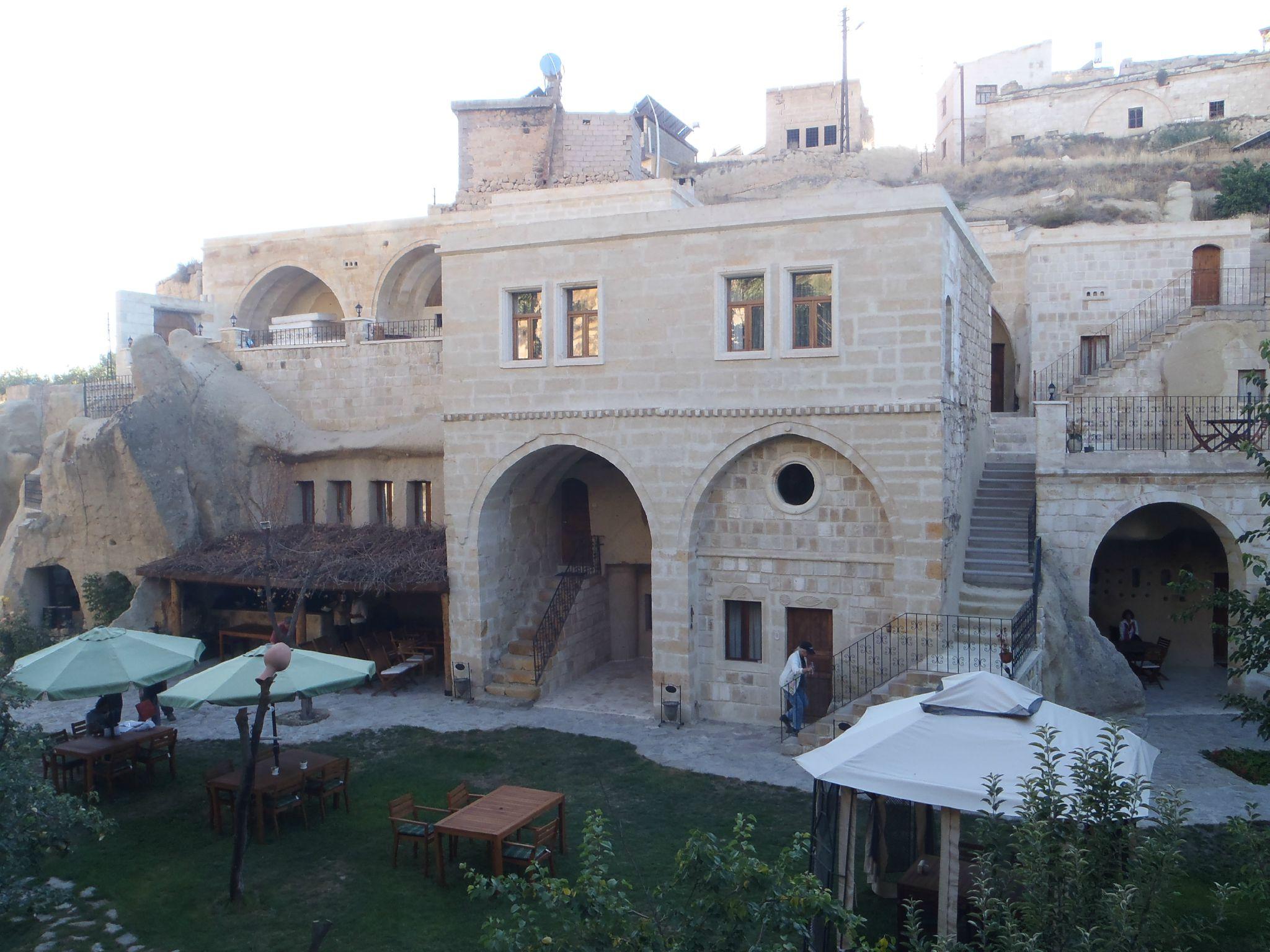 turquie cappadoce ortéhisar hotel cave luxueux