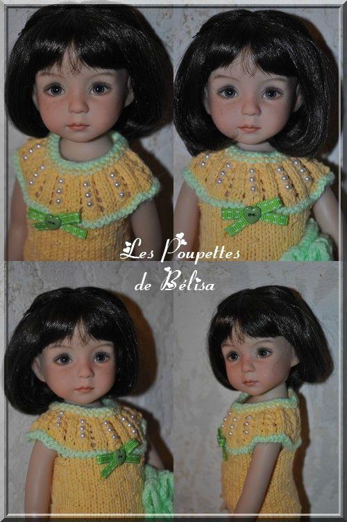 delhia portait-robe jaune