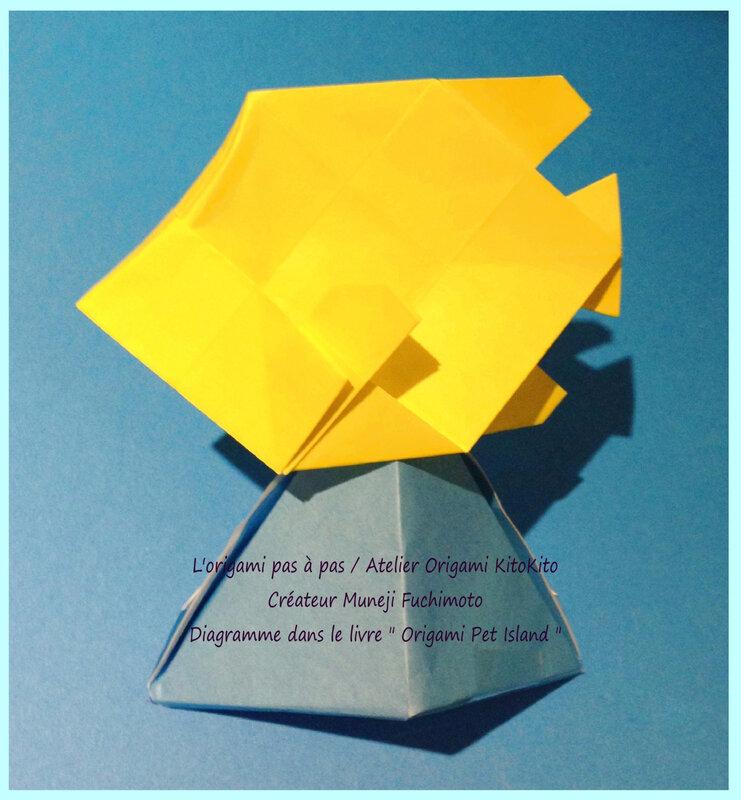 Atelier Origami KitoKito Poisson tropique 3