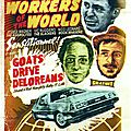 affiche Skagenda Reggae Workers of the World + Goats Drive Deloreans - septembre 2015