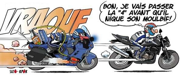 Humour nippon les motosapiens de spicheren - Dessin motard humoristique ...