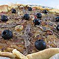 Pissaladière aux noix de St Jacques