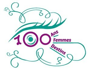 logo portraits de femmes - yeux