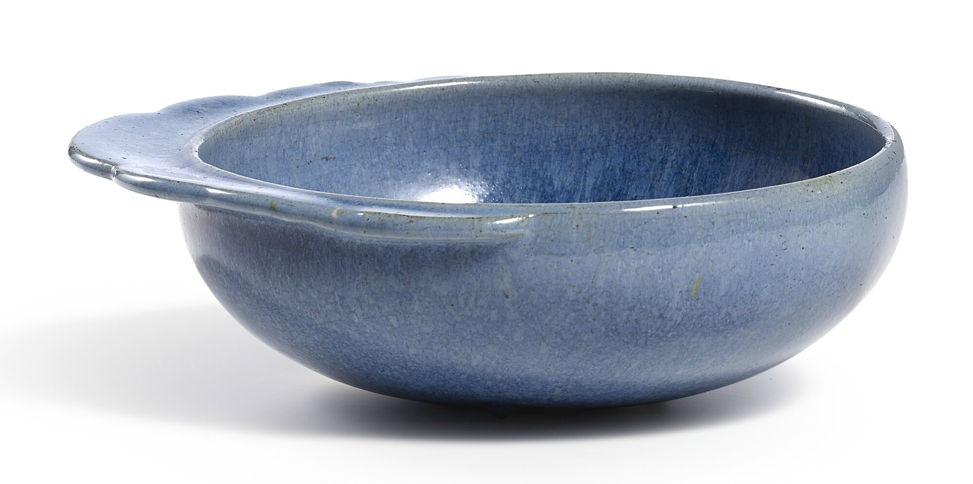A rare 'jun-imitation' handled washer, late Ming dynasty