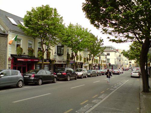 Une des deux rues principales de Malahide ! ^^